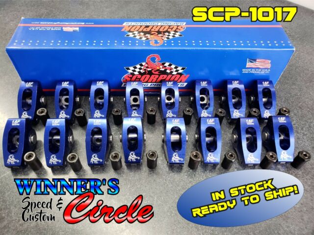 Scorpion roller rockers 302 351 Ford 1.6 3//8 stud mount