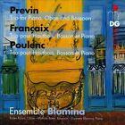 Fran‡aix, Previn, Poulenc: Trios for Oboe, Bassoon and Piano Super Audio Hybrid CD (CD, Dec-2013, MDG)