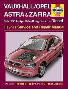 haynes owners workshop car manual vauxhall astra zaf petrol rh ebay co uk opel astra car manual astra car alarm manual