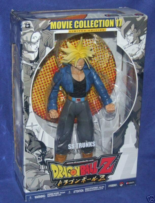 DRAGONBALL Z  Limited Edition Movie Collection 10  SS Trunks New Factory Sealed