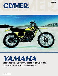 clymer workshop repair manual book yamaha rt 1 rt2 rt3 yz250 yz350 rh ebay com