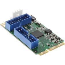 InLine Mini-PCI Express Karte, 4x USB 3.0