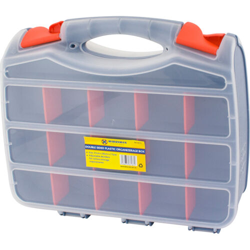 Boîte à Outils Bits 2 faces organisateur de stockage 30 compartiments Case vis À faire soi-même assortis