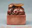 miniature 4 - 2-8-034-Chine-Naturel-Shoushan-Pierre-Sculpte-Pixiu-Bete-Dynastie-Sceau-Timbre