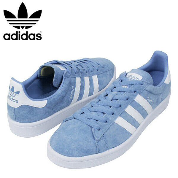 outlet store sale outlet store new lifestyle Adidas campus classic Adidas originals Denim blue /White DB0983 Casual Retro