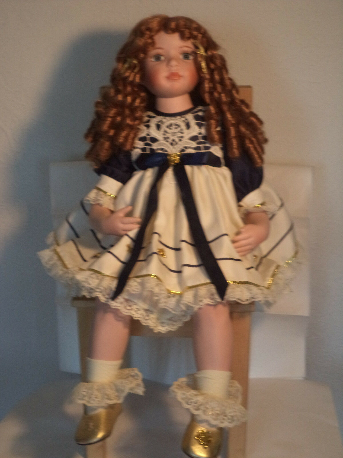 Beautiful Porcelain Doll by Kathy Smith Fitzpatrick