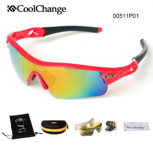 Polarized Sunglasses Outdoor Cycling Bike Glasses Sports Eyewear Goggles 5 Lens