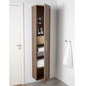 ikea godmorgon hochschrank 40x32x192 cm schrank badezimmerschrank braun neu ovp ebay. Black Bedroom Furniture Sets. Home Design Ideas