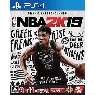 Global Ship PS4 NBA 2K19 2019 (ENG Ver.) PlayStation 4 US New