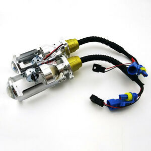 MINI-Projector-Lens-For-H4-3-Lamp-BI-XENON-HID-Xenon-Replacement-HIGH-LOW-Bulb