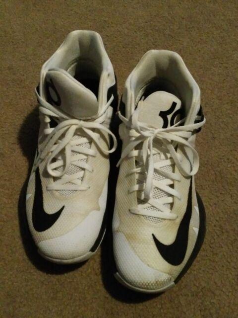 2813d7a3b899 ... amazon nike kd trey 5 iv tb basketball shoes 844590 100 white black  mens size 6ba69