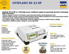 GYS 30A AMP 12V liquido o gel SUPPORTO BATTERIA CARICABATTERIE unità INVERTER TECHNOLOGY