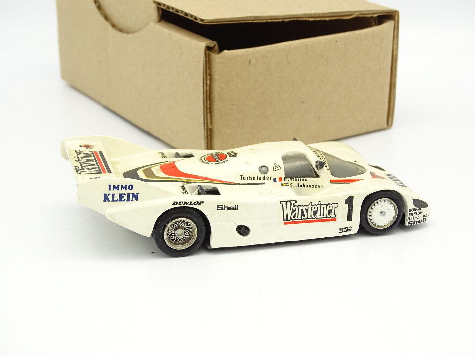 Mini Racing Racing Racing Set aufgebaut SB 1 43 - porsche 956 KH winner Norisring 1983 a91082
