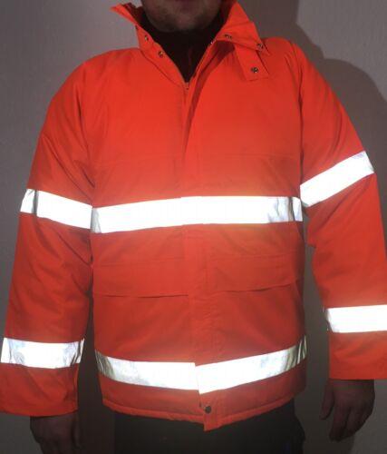 AUSVERKAUF  Sicherheitsjacke  Berufsbekleidung Winter Schutz XL TOP Qualität