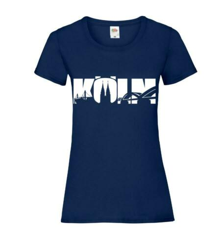 Pullover Hoodie Köln Sehenswürdigkeiten T-Shirt