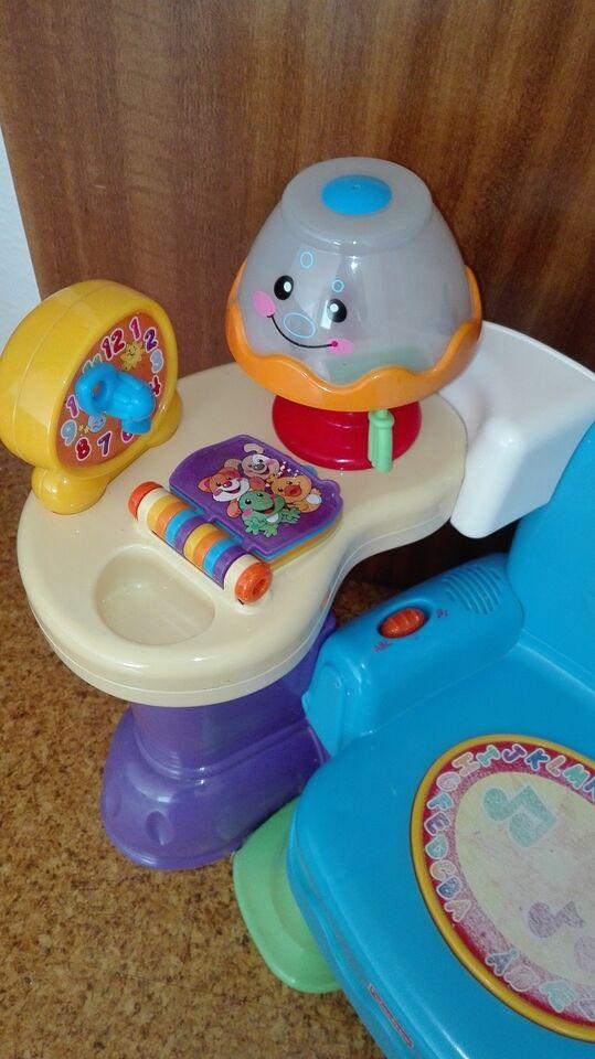 Aktivitetslegetøj, Musik stol fisher price legetøj
