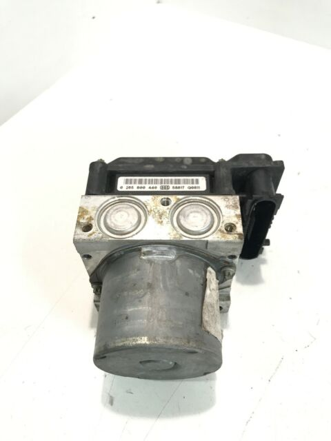 Renault Megane Convertible Pompe ABS 0265800440 0265231577 8200377455/1.6 2006