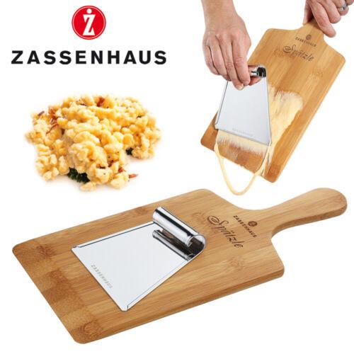 Zassenhaus-Spaetzle planche avec grattoir