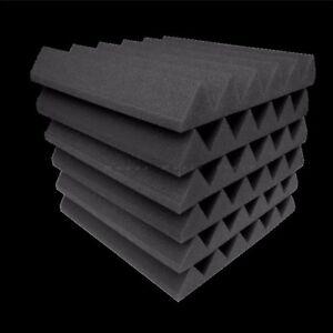 Acoustic-Foam-48-pack-Wedge-Studio-Soundproofing-Foam-Wall-Tiles-12x12x2-inch
