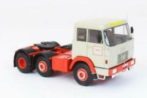 Hanomag-Henschel-Frontsteer-F211-Beige-Red-1967-1-43-Model-NEO-SCALE-MODELS