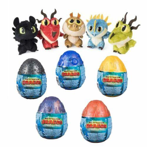 Selection Dragon EggDragon Plush FigureDreamWorks DragonsStuffed Animal