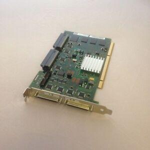 Efficace Ibm 5736 Pci-x Dual Channel U320 Scsi Adapter 44v5591 Saveur Aromatique