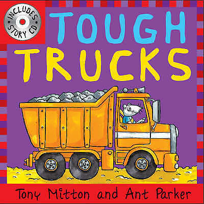 Tough Trucks (Amazing Machines with CD), Tony Mitton and Ant Parker | Paperback