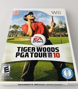 Tiger Woods PGA Tour 10 Nintendo Wii, 2009 Video Game
