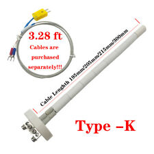 New High Temperature Thermocouple Coretype K 2372f Ceramic Kiln Probe
