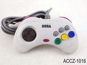sega saturn japanese white controller jp mist gray ss control pad us