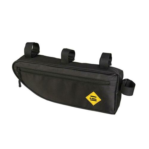 B SOUL Bicycle Triangle Bag Bike Frame Front Tube Bag Waterproof Pouch C#P5