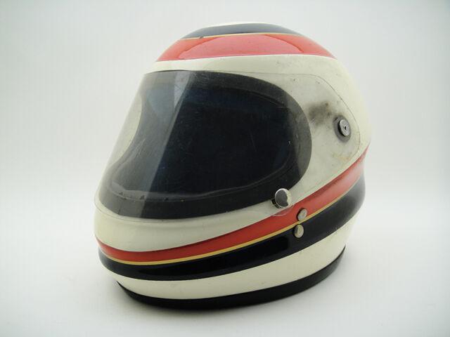 VINTAGE JEB'S HELMET Johnny Cecotto Racing Pilot F1 GP Classic Racer Rider