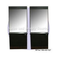 Styling Station Mirror Beauty Salon Furniture Equipment