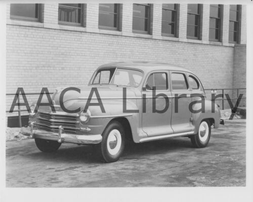 Ref. #67401 Factory Photo 1946 Plymouth P15 C Special Deluxe Sedan Picture