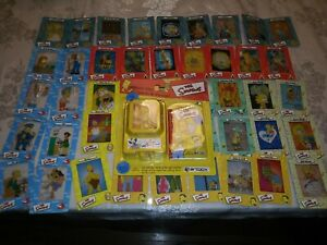 THE-SIMPSONS-FILM-CARDZ-SERIES-1-COMPLETE-45-CARD-SET-AND-NEW-VIEWER-PACK