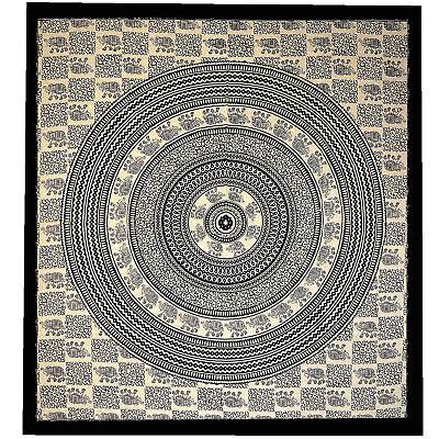 Giorno Soffitto Mandala Missoni Letto Su Lancio Decorazione-panno India Goa Yoga Hippie Top- Superficie Lucente