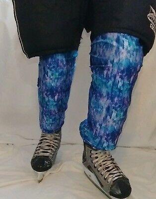 womens decorative ice hockey socks
