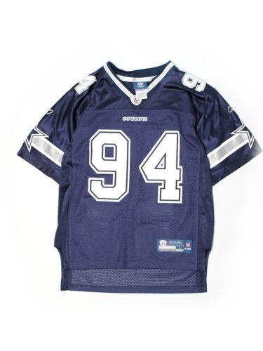 719bb7077 Youth Boy Reebok Dallas Cowboys Demarcus Ware 94 Football Jersey Size L  14 16 durable