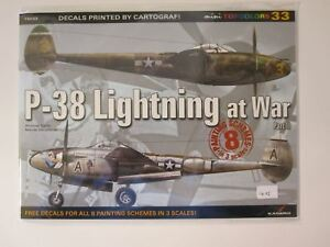 Kagero-Book-P-38-Lightning-at-War-Part-2-16-pg-illustrated-throughout-DECAL