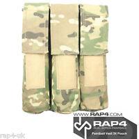 Paintball Vest 3x Pod Pouch (eight Color Desert Camo) [w1]