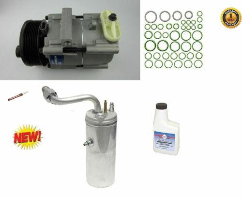 New A//C Compressor w Accum orings fits:05-00 Ford Excursion Orifice oil