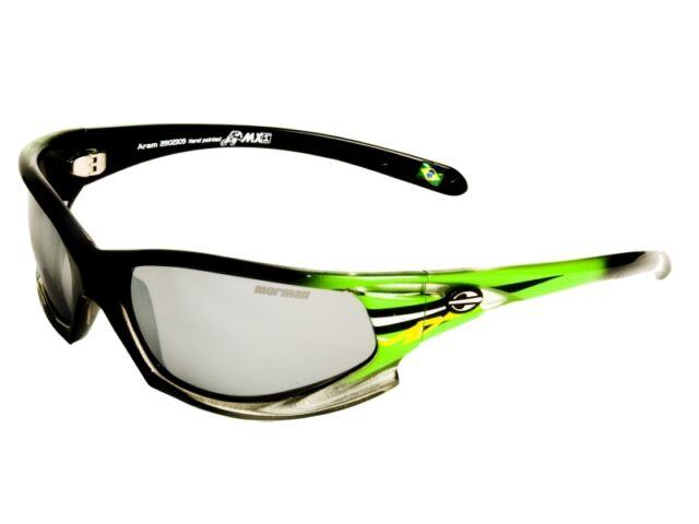 ce020a0a73e48 New Mormaii Aram MX Mens Sport UV 400 Eyewear Sunglasses Frame Color  Green Black