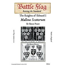 Battle Flag - Medieval Mounted Knight Sir Simon Fraser - 28mm