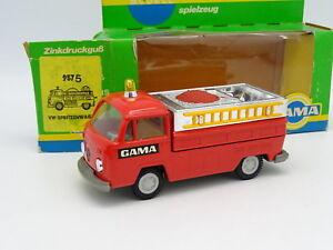 Gama Mini 1/43 - Pompiers Vw Combi T2 Pick Up
