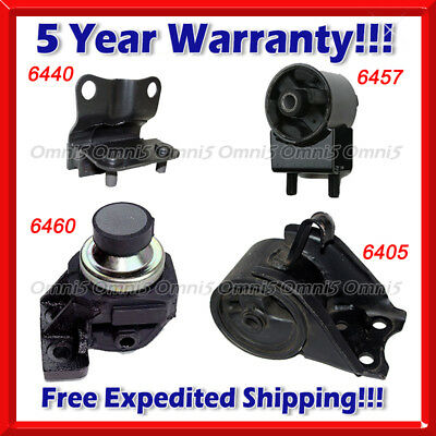 A522 For 1997-2001 TOYOTA CAMRY 2.2L Front /& Rear Engine Mount Set 2PCS AUTO