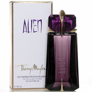 Alien Perfume By Thierry Mugler, 3 Oz Edp Spray For Women Refillable New by Thierry Mugler