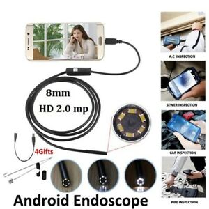 2M-IP67-Camara-endoscopio-Android-movil-USB-Baroscopio-minicamara-inspeccion