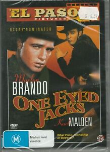Brand-New-Sealed-in-Plastic-One-Eyed-Jacks-DVD-2011-Rated-M-Region-4-PAL-Brando