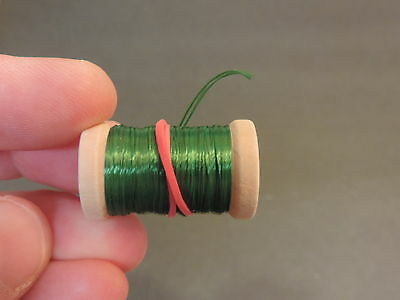 1 New Spool of Thin Flat HOT PINK Tinsel or Flash for Fly Tying 10 Yards