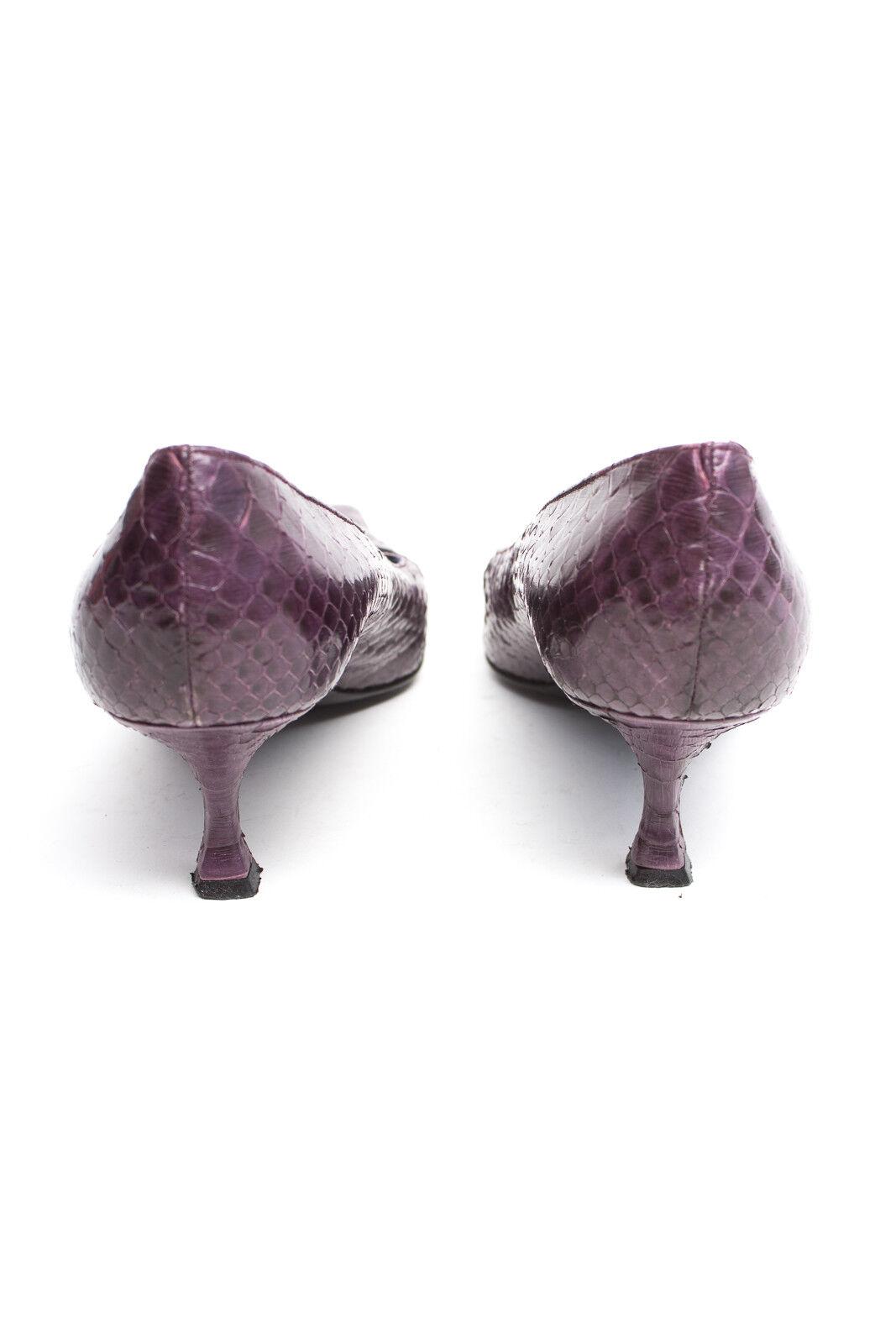 CLAUDIO tg. MERAZZI scarpe donna décolleté tg. CLAUDIO 40 viola in pelle d26e08